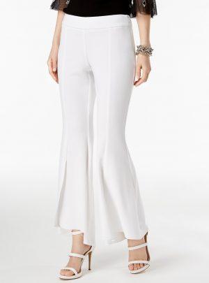 I.N.C. Flared High-Low Pants