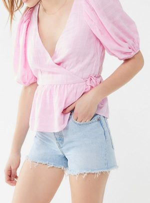 Levi's Wedgie High-Waisted Denim Short – Awesome Street