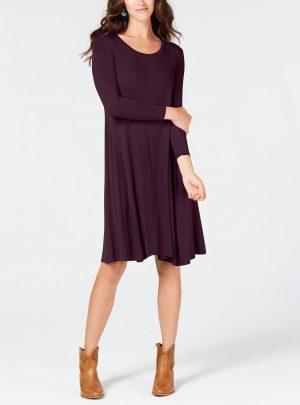 Style & Co Swing Dress